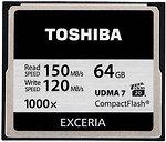 Фото Toshiba Exceria CompactFlash 1000x 64Gb