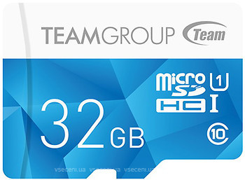 Фото Team Group Color Card microSDHC Class 10 UHS-I U1 32Gb