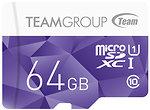 Фото Team Group Color Card microSDXC Class 10 UHS-I U1 64Gb