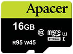 Фото Apacer microSDHC Class 10 UHS-I U3 95MB/s 16Gb