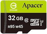 Фото Apacer microSDHC UHS-I U3 32Gb