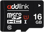 Фото Addlink microSDHC Class 10 UHS-I U1 16Gb