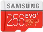 Фото Samsung Evo+ microSDXC Class 10 UHS-I U3 256Gb