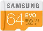 Фото Samsung Evo microSDXC Class 10 UHS-I U1 64Gb
