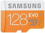 Фото Samsung Evo microSDXC Class 10 UHS-I U1 128Gb