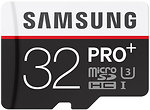Фото Samsung Pro+ microSDHC Class 10 UHS-I U3 32Gb