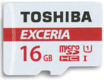 Фото Toshiba Exceria M302 microSDHC Class 10 UHS-I U1 16Gb