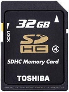 Фото Toshiba HS Standard M102 microSDHC Class 4 32Gb