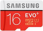 Фото Samsung Evo Plus microSDHC Class 10 UHS-I U1 16Gb