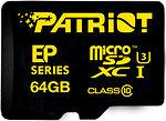 Фото Patriot EP microSDXC Class 10 UHS-I U3 64Gb