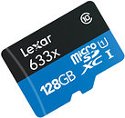 Фото Lexar High-Performance 633x microSDXC UHS-I 128Gb