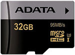 Фото ADATA Premier Pro microSDHC UHS-I U3 32Gb
