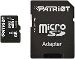Фото Patriot LX microSDHC Class 10 UHS-I 40MB/s 8Gb