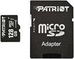 Фото Patriot LX microSDXC Class 10 UHS-I 40MB/s 128Gb