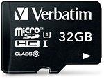 Фото Verbatim microSDHC Class 10 UHS-I 32Gb