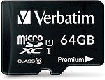 Фото Verbatim Premium microSDXC Class 10 UHS-I 64Gb