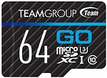 Фото Team Group Go microSDXC Class 10 UHS-I U3 64Gb
