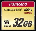 Фото Transcend Ultimate CompactFlash 1066x 32Gb