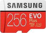 Фото Samsung Evo Plus microSDXC Class 10 UHS-I U3 256Gb