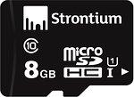 Фото Strontium microSDHC Class 10 UHS-I U1 8Gb