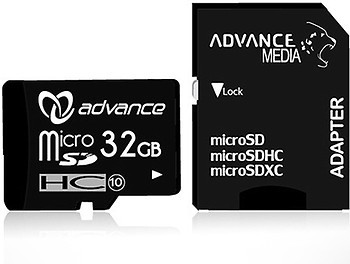 Фото Advance Media microSDHC Class 10 32Gb
