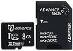 Фото Advance Media microSDHC Class 10 8Gb