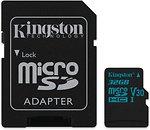 Фото Kingston Canvas Go! microSDHC UHS-I U3 V30 32Gb