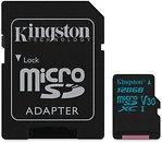 Фото Kingston Canvas Go! microSDXC UHS-I U3 V30 128Gb