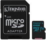Фото Kingston Canvas Go! microSDXC UHS-I U3 V30 64Gb