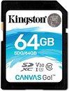 Фото Kingston Canvas Go! SDXC Class 10 UHS-I U3 V30 64Gb