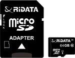 Фото RiDATA microSDXC Class 10 UHS-I 64Gb