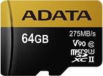 Фото ADATA Premier One microSDXC Class 10 UHS-II U3 V90 64Gb