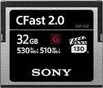 Фото Sony CFast 2.0 32Gb