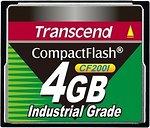 Фото Transcend Industrial Grade CompactFlash CF200I 4Gb