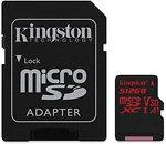 Фото Kingston Canvas React microSDXC UHS-I U3 V30 A1 512Gb