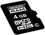 Фото GoodRAM microSDHC Class 4 4Gb