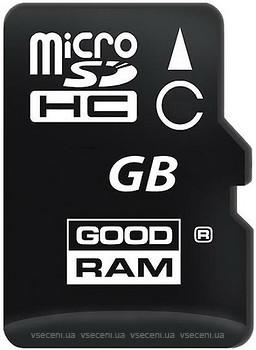 Фото GoodRAM microSDHC Class 4 8Gb