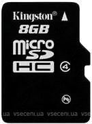 Фото Kingston microSDHC Class 4 8Gb