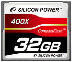 Фото Silicon Power CompactFlash 400x 32Gb