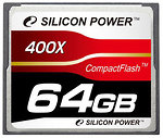 Фото Silicon Power CompactFlash 400x 64Gb