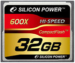 Фото Silicon Power CompactFlash 600x 32Gb