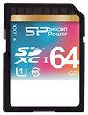 Фото Silicon Power SDXC UHS-I Class 10 64Gb