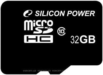 Фото Silicon Power microSDHC Class 10 32Gb