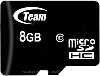 Фото Team Group microSDHC Class 10 8Gb