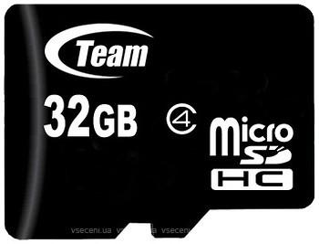 Фото Team Group microSDHC Class 4 32Gb