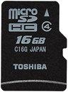 Фото Toshiba microSDHC Class 4 16Gb