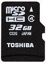 Фото Toshiba microSDHC Class 4 32Gb