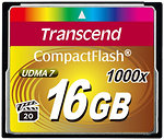 Фото Transcend CompactFlash 1000x 16Gb