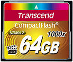 Фото Transcend CompactFlash 1000x 64Gb