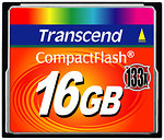 Фото Transcend CompactFlash 133x 16Gb